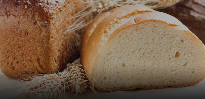 Vedere interioară a pâinii