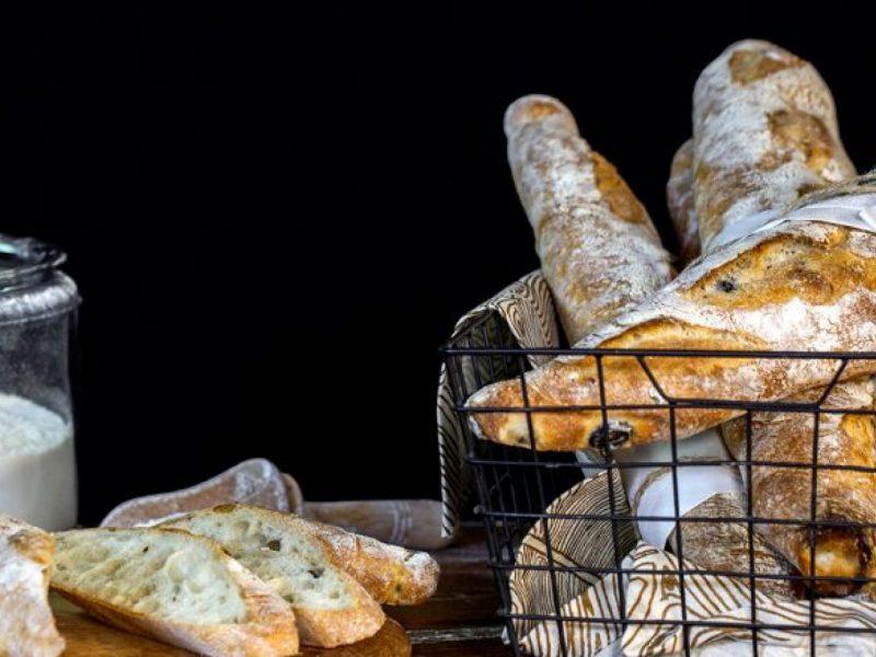 Pâine artizanală cu măsline